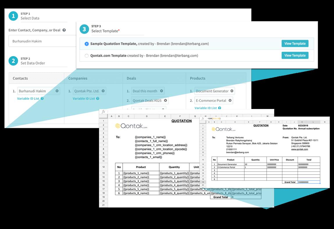 Img document automation