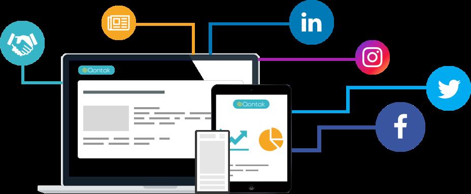 Social media traditional media partnership